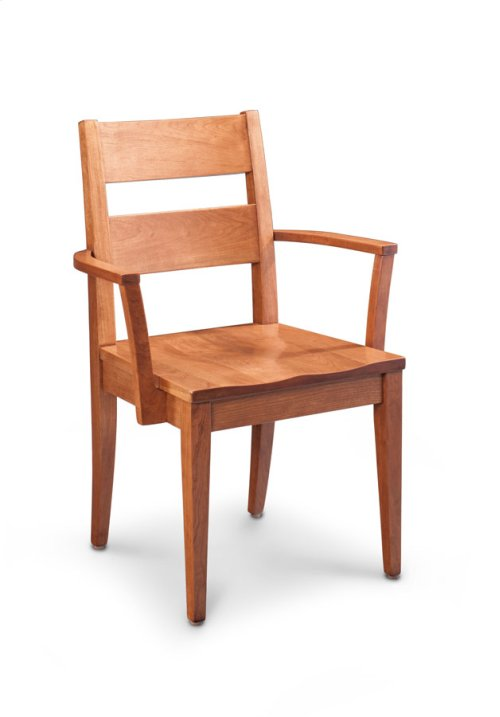 Cadira Arm Chair, Wood Seat