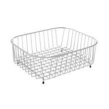 Square kitchen sink basket stainless steel