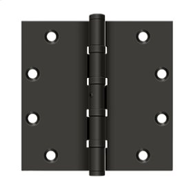 """5""""x 5"""" Square Hinges, Ball Bearings - Oil-rubbed Bronze"""