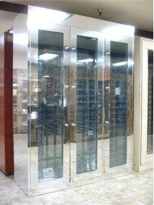 Custom Aluminum Wine Cabinet - Scratch n Dent