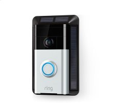 Solar Charger (for Ring Video Doorbell) - Black