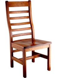 Lorre Side Chair w/ Wood Seat