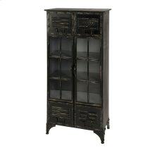 Alastor Locker Cabinet with Glass Doors