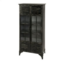 Alastor Locker Cabinet with Glass Doors