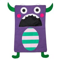 Purple Monster Laundry Bag. Product Image