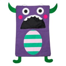 Purple Monster Laundry Bag.