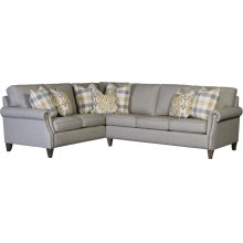 3311 Action Metal Sectional