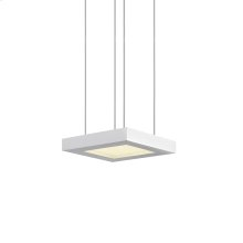Chromaglo Bright White LED Square Pendant