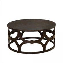 Tuxedo Round Coffee Table