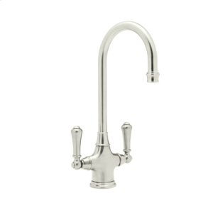 Polished Nickel Single Hole Bar Faucet Product Image