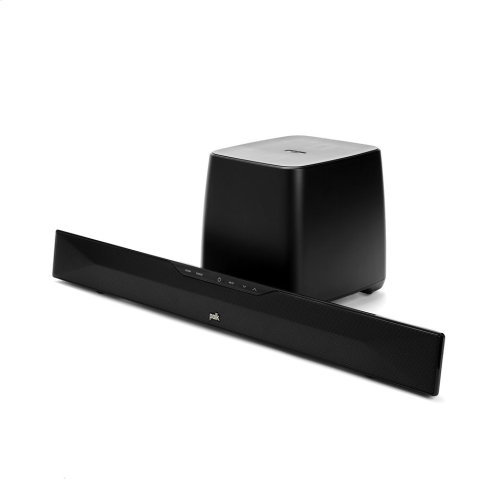 35-inch Sound Bar Home Theater System with Bluetooth wireless technology.