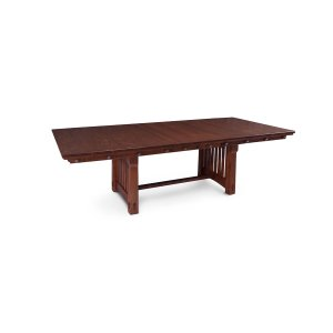 "MaRyan Trestle Table, M Ryan Trestle Table, 42""x96"" 4-Leaves"