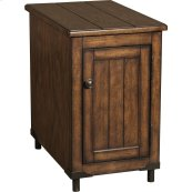 Saluda Oak Reclinermate Accent Table
