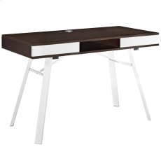 Stir Office Desk in Cherry Product Image