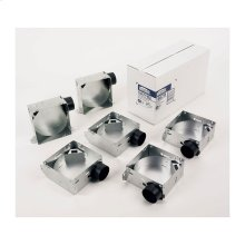 Housing Pack for 1670F, 1671F, 1688F and 1689F (damper/plastic duct connector included)