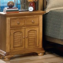 Large Two Door Night Stand
