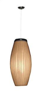 (LS) Kuta Ellipse Hanging Lamp (10x10x26) Product Image