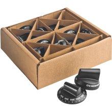 Black knob kit, Pro 27 Ranges