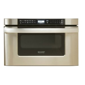 SHARP24 in. 1.2 cu. ft. 950W Sharp Easy Open Stainless Steel Microwave Drawer Oven (KB6524PS)