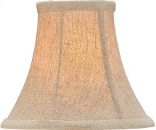 Natural Linen Shade, Medium - 3 x 6 x 5