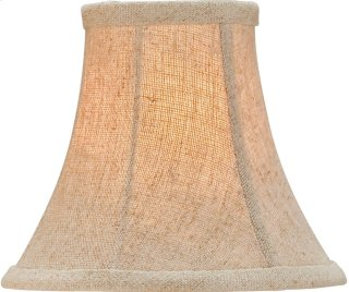Natural Linen Shade, Medium - 3 x 6 x 5