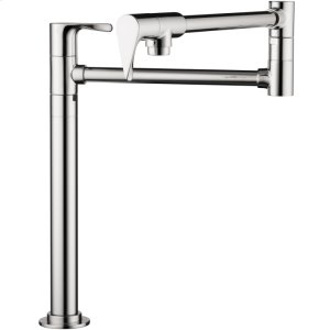 Chrome Citterio Pot Filler, Deck-Mounted Product Image