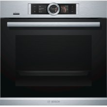 "500 Series 24"" Single Wall Oven with Wi-Fi Connectivity 24"" Single Wall Oven with Home Connect, HBE5452UC, Stainless Steel"