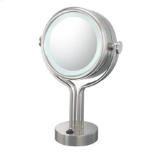 71405 Contemporary Four Post Vanity Mirror