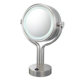 71445 Contemporary Four Post Vanity Mirror
