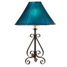 Forged Iron Table Lamp 028 (without shade)