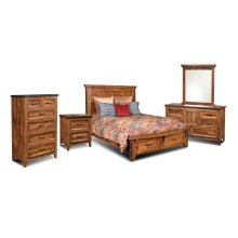 HH-4365 Bedroom  5 Piece King Bedroom Set