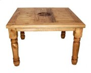"""48"""" Square Table W/star On Top Product Image"""