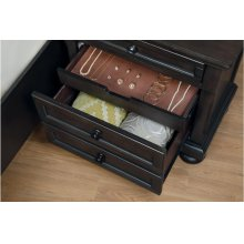 Night Stand with Hidden Drawer