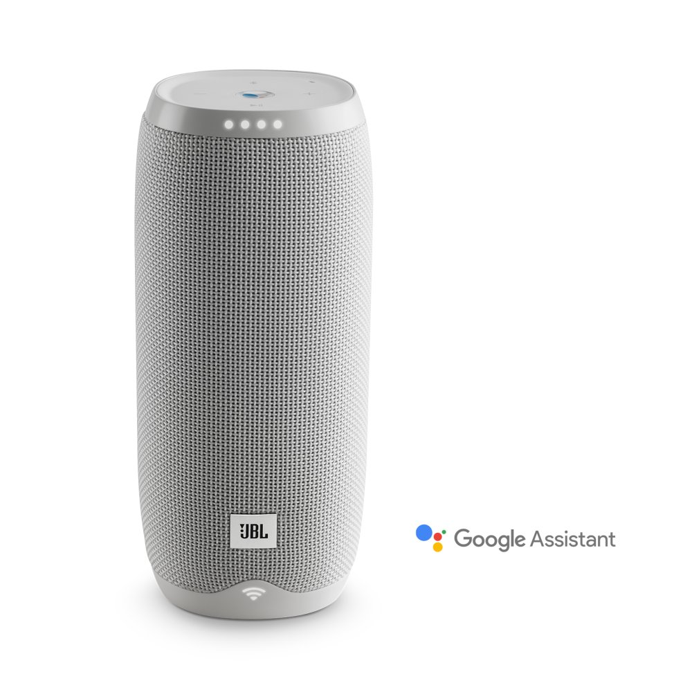 JBL Link 20 Voice-activated portable speaker  WHITE
