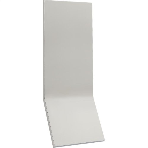 Visual Comfort PB2050PN Peter Bristol Bend LED 20 inch Polished Nickel Outdoor Wall Light, Large Tall