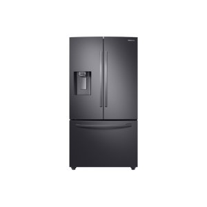 Samsung23 cu. ft. Counter Depth 3-Door French Door Refrigerator with CoolSelect Pantry in Black Stainless Steel