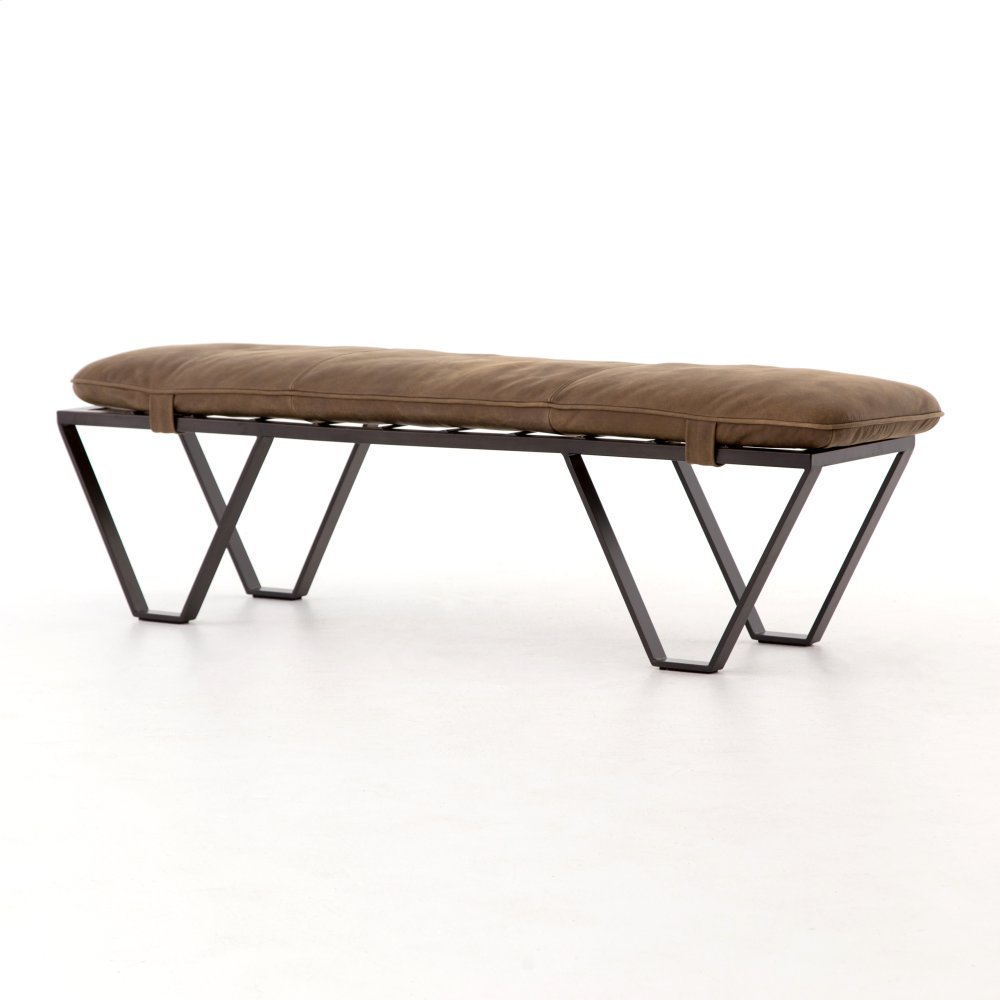 Umber Grey Cover Darrow Bench
