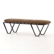 Umber Grey Cover Darrow Bench