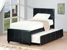 Twin Trundle Bed Espresso