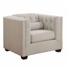 Cairns Transitional Oatmeal Chair