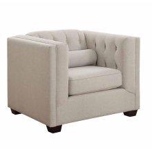 Cairns Transitional Oatmeal Chair