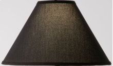 Black Linen Floor Lamp Shade 18 inch