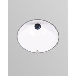 """White MALIBU Undermount Lavatory 17"""" x 14"""""""