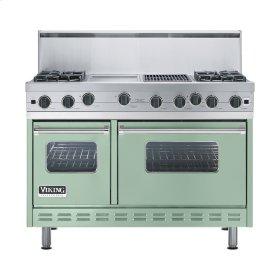 """Sage 48"""" Open Burner Range - VGIC (48"""" wide, four burners 12"""" wide griddle/simmer plate 12"""" wide char-grill)"""
