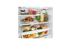 27 cu. ft. Ultra Capacity 4-Door French Door Refrigerator
