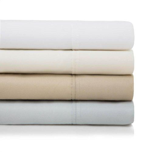 600 TC Cotton Blend - Split Queen White