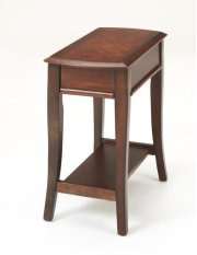 Broadway Merlot Side Table Product Image