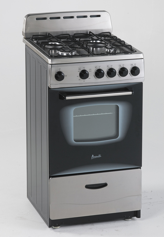 "20"" Gas Range