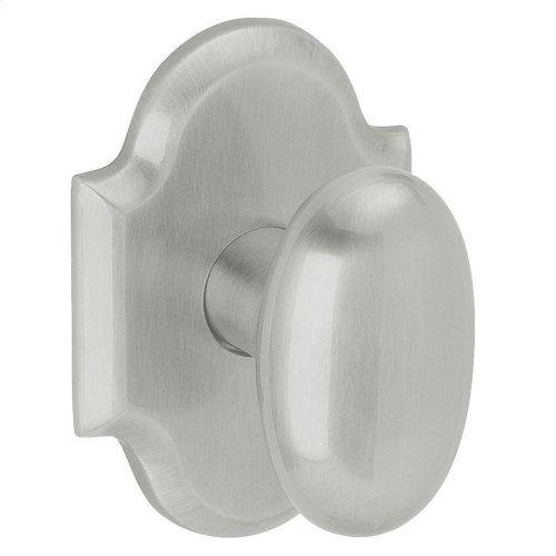 Satin Chrome 5024 Oval Knob