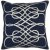 """Additional Leah LAH-001 22"""" x 22"""" Pillow Shell with Polyester Insert"""